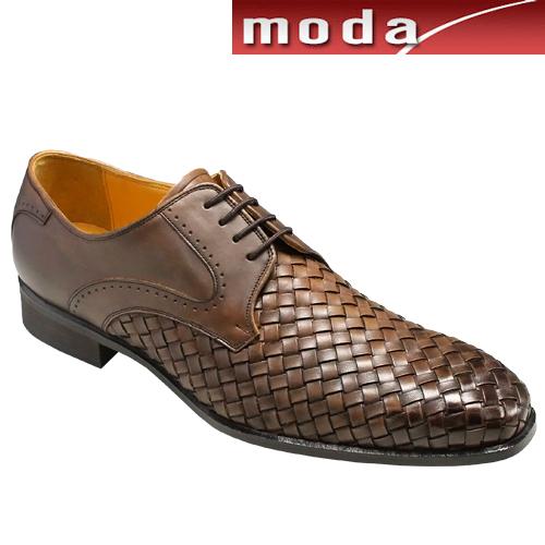 マドラス/メッシュのドレス&カジュアルレースアップシューズ/M198(ブラウン)/メンズ 靴