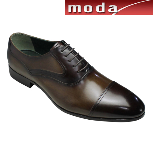 マドラス ビジネスシューズ ストレートチップ M252 ダークブラウンコンビ madras メンズ 靴
