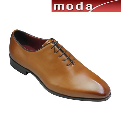マドラス 一枚革をホールカットしたドレス&ビジネスシューズ レースアップ プレーン M351 ライトブラウン madras メンズ 靴