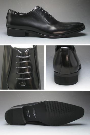[TRUSSARDI] long nose dress shoes (race )TR13025 (black)