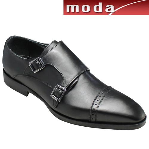 カルロメディチ/イタリア製ドレスシューズ(ダブルモンク) CR1004(ブラック)/メンズ 靴