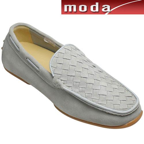 【REGAL (リーガル)】甲メッシュのスエードドライビングシューズ(ヴァンプ)・54KR(グレースエード)/メンズ 靴