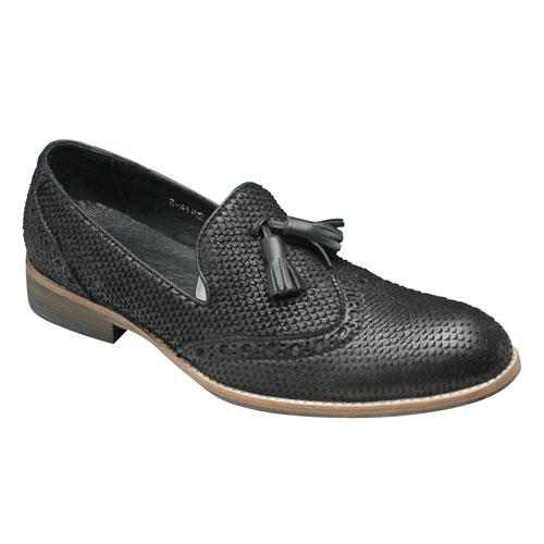 【新発売】 【moda selection(モーダセレクション)】トレンドのパイソン型押し・ドレスカジュアルシューズ(タッセル)・R41102(ブラックスネーク) 靴/メンズ【moda 靴, ヒットライン:1da07a95 --- phcontabil.com.br