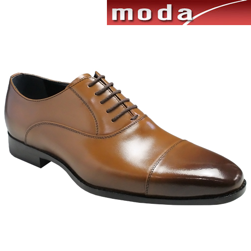 モデロ/ストレートチップ、フォーマルなドレス&カジュアルシューズ・DM1302(ライトブラウン)3E/MODELLO メンズ 靴