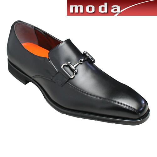 モデロ ビジネスシューズ 撥水 ビット スワールモカ DM352 ブラック MODELLO メンズ 靴