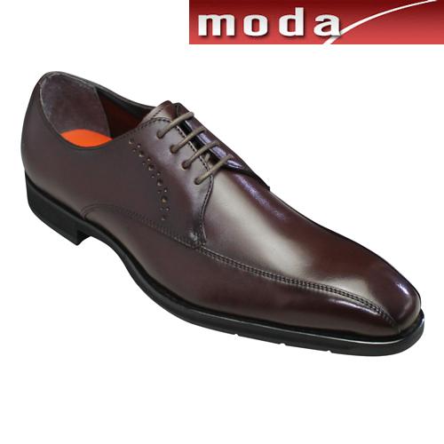 モデロ ビジネスシューズ 撥水 スワールモカ DM353 バーガンディ MODELLO メンズ 靴