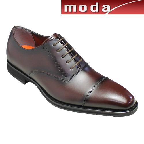 モデロ ビジネスシューズ 撥水 ストレートチップ DM354 バーガンディ MODELLO メンズ 靴