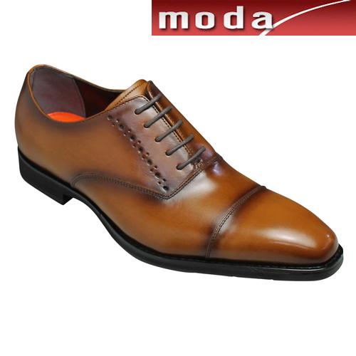 モデロ ビジネスシューズ 撥水 ストレートチップ DM354 ライトブラウン MODELLO メンズ 靴