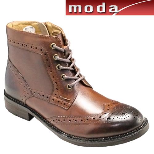 ラウディ/トリッカーブーツ・r-61225(ブラウン)/(RAUDi)メンズ 靴