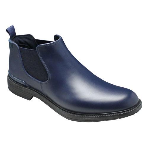 人気デザイナー 【REGAL(リーガル)】カラフルなカラーソールのレインシューズ(プレーントゥ・サイドゴア)・57GR(ネイビー/ブラック) 靴/メンズ 靴, 直販ベルト専門店NOMURA:5bd8c329 --- phcontabil.com.br