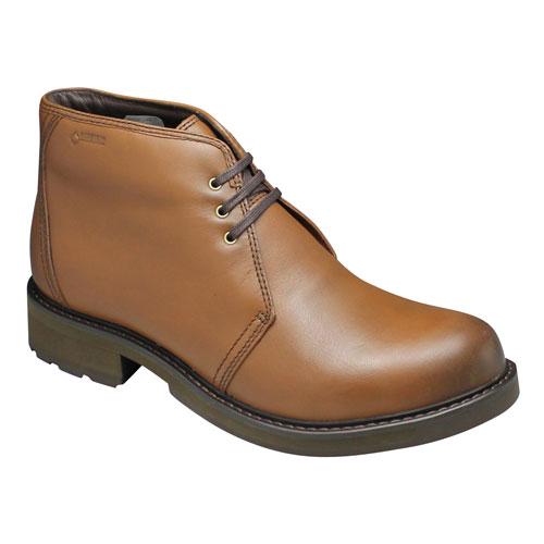 【REGAL STANDARDS(リーガルスタンダーズ)】GORE-TEX(ゴアテックス)採用の全天候型チャッカーブーツ・62GR(ブラウン)/メンズ 靴