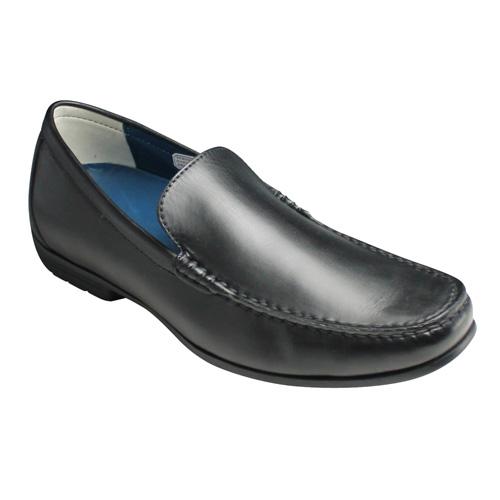 【REGAL(リーガル)】ドライビングとしても活躍する牛革ビジカジスリッポン(ヴァンプ)・56HR(ブラック)/メンズ 靴