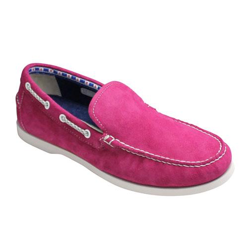 REGAL STANDERDS リーガル スタンダーズ 激安価格と即納で通信販売 素足に心地良いツマミモカシンのスエードスリッポン 60HR 送料無料限定セール中 靴 メンズ ピンクスエード