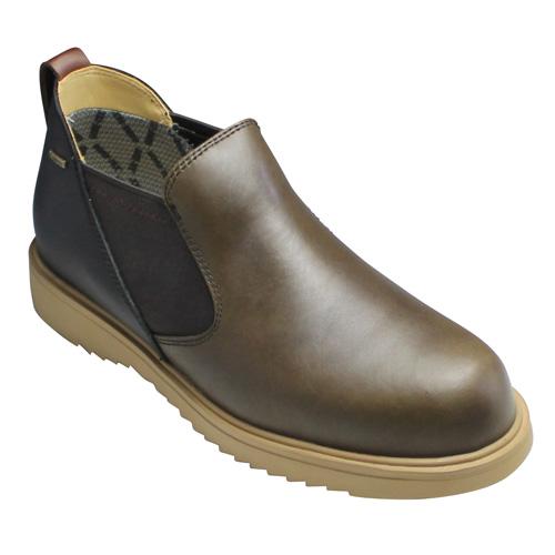【絶品】 【REGAL STANDARDS(リーガル スタンダーズ)】カジュアルショートブーツ(プレーントゥ)【REGAL・60JR(カーキコンビ)/GORE-TEX(ゴアテックス)/メンズ 靴, 小笠原村:8b3d5ed4 --- phcontabil.com.br