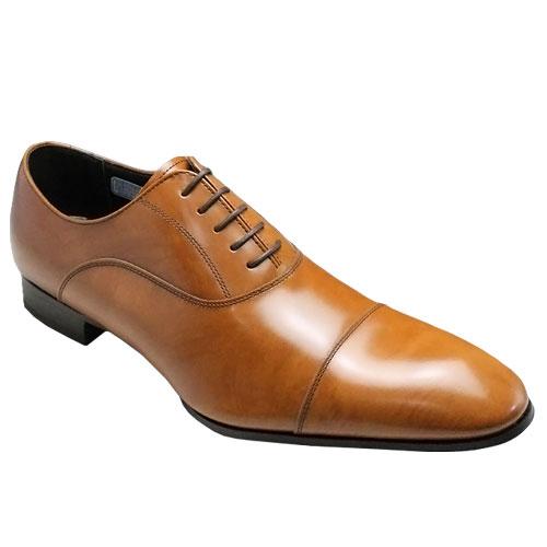 リーガル/牛革ビジネスシューズ(ストレートチップ)冬底・011R(ブラウン)/メンズ 靴