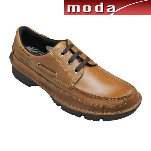 リーガルウォーカー カジュアルシューズ Uモカシン RE276W キャメル 3E幅 防滑タイプ REGAL メンズ 靴