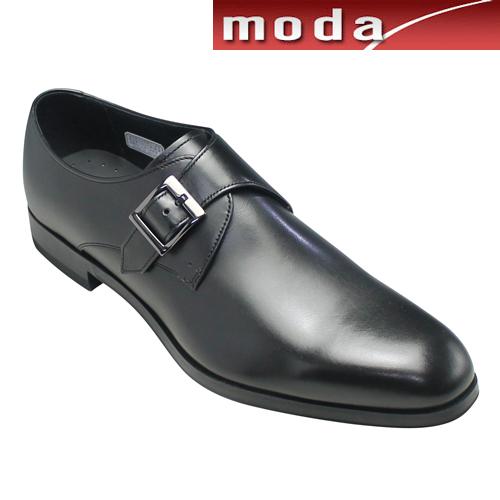 リーガル ビジネスシューズ ホールカット サイドモンク スリッポン プレーン ポインテッドトゥ 12PR ブラック REGAL メンズ 靴