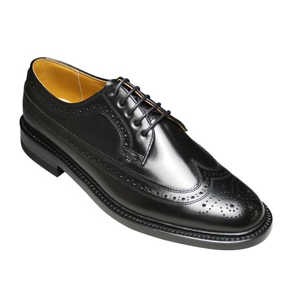 【REGAL(リーガル)】 2589(ECサイズ) ビジネスシューズ ウイングチップ紐 (ブラック)/メンズ 靴