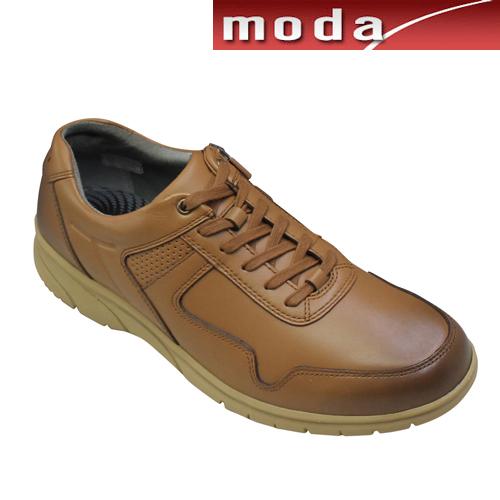 リーガル レザースニーカー サイドジップ 299W ブラウン REGAL メンズ 靴