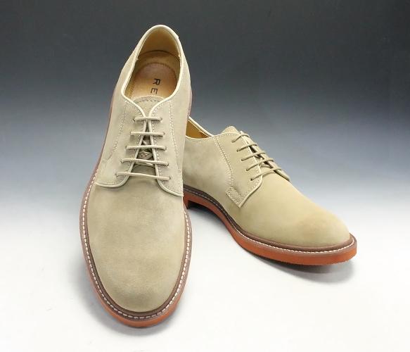 リーガル/牛革スエードのカラフルなカジュアルシューズ・RE51MR(ベージュスエード)/REGAL メンズ 靴