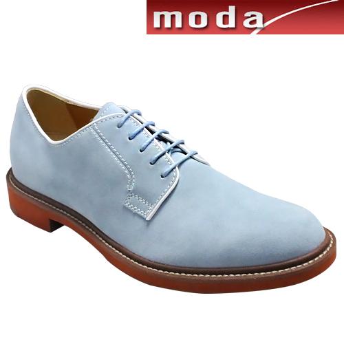 リーガル/牛革スエードのカラフルなカジュアルシューズ・RE51MR(ブルースエード)/REGAL メンズ 靴