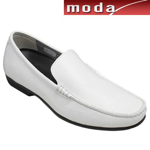 リーガル/ドライビングとしても活躍する牛革ビジカジスリッポン(ヴァンプ)・56HR(スコッチホワイト)/REGAL メンズ 靴