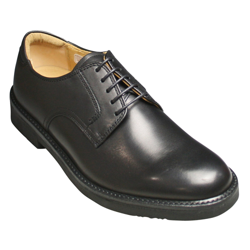 【REGAL WALKER(リーガルウォーカー)】3E(幅広)撥水加工・牛革タウンウォーキングシューズ(プレーントゥ)・101w (ブラック)/メンズ 靴