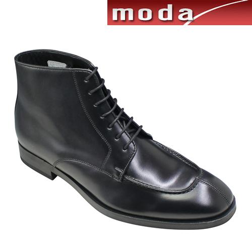 リーガル ビジネスシューズ Uモカシン ブーツ 38RR ブラック REGAL メンズ 靴