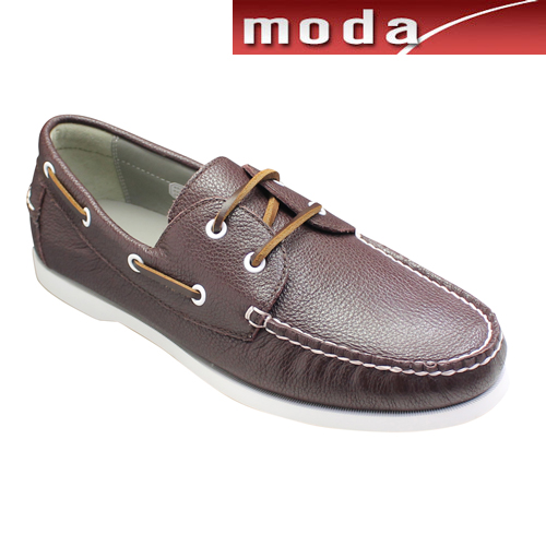 リーガル デッキシューズ モカシン ラウンドトゥ 55TR ダークブラウン REGAL メンズ 靴