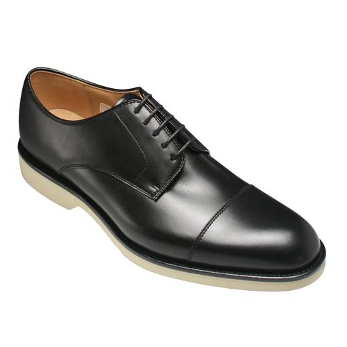 【REGAL(リーガル)】撥水加工と吸汗・速乾性に優れた牛革ビジネスシューズ(ストレートチップ)・04BR(ブラック)/メンズ 靴