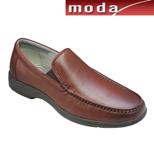 リーガルウォーカー スリッポン ヴァンプモデル ラウンドトゥ RE300W ダークブラウン 3E幅 REGAL メンズ 靴