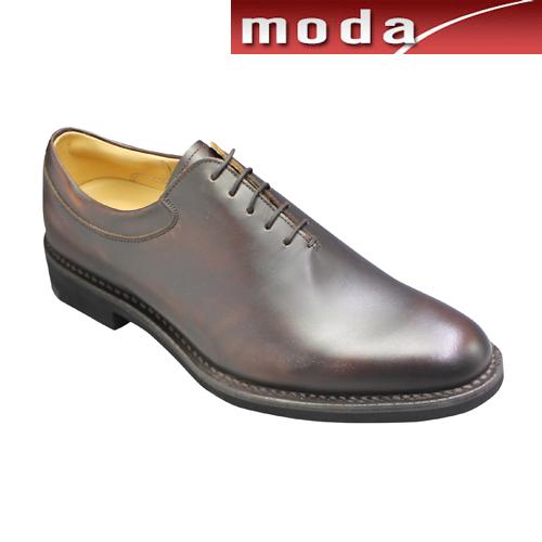 リーガルウォーカー ビジネスシューズ ホールカット ポインテッドトゥ 306W ダークブラウン REGAL メンズ 靴