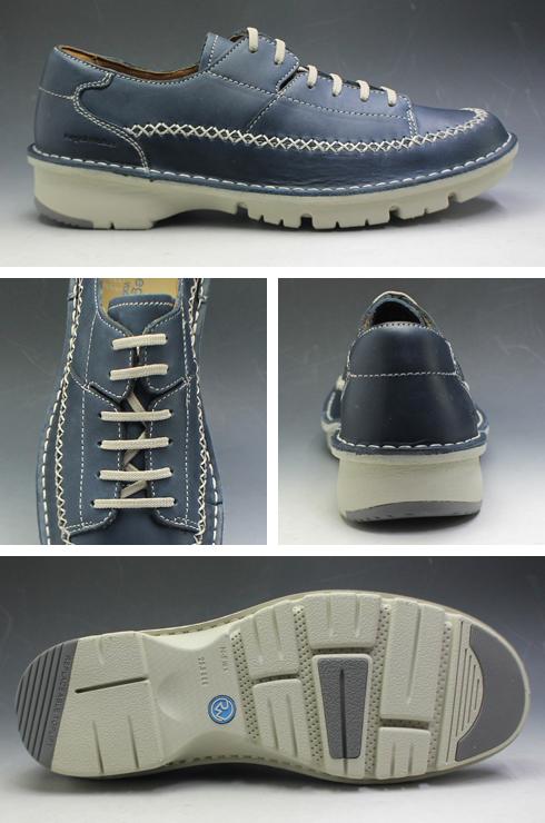 リーガルウォーカー レースアップ タウンウォーカー Uチップ ラウンドトゥ 308W ネイビー REGAL メンズ 靴