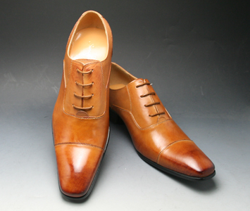 [SARABANDE (sarabande)] European elegance drifting cowhide long nose business shoes (straight tip), SB7770 (light brown) [easy ギフ _ packing]
