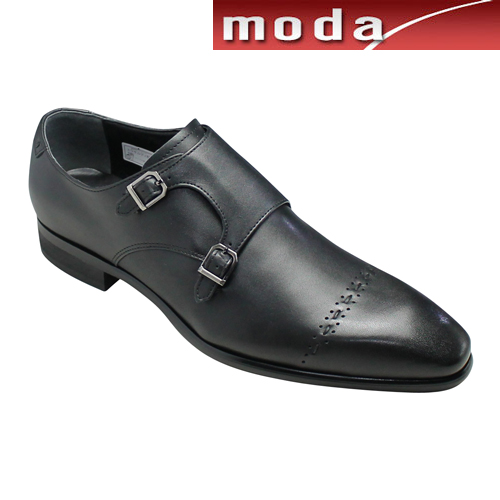 トラサルディ ビジネスシューズ ストレートチップ TR10279 ブラック TRUSSARDI メンズ 靴