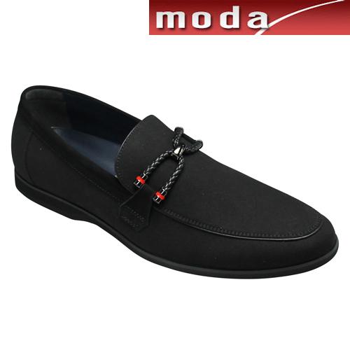 トラサルディ カジュアル スリッポン ビット TR17013 ブラック TRUSSARDI メンズ 靴