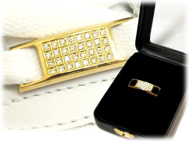 【essense】 オリジナル シューレースジュエリー ダイヤモンド/YELLOW GOLD 【保証書付き】SIZE:MEDIUM【一個販売】