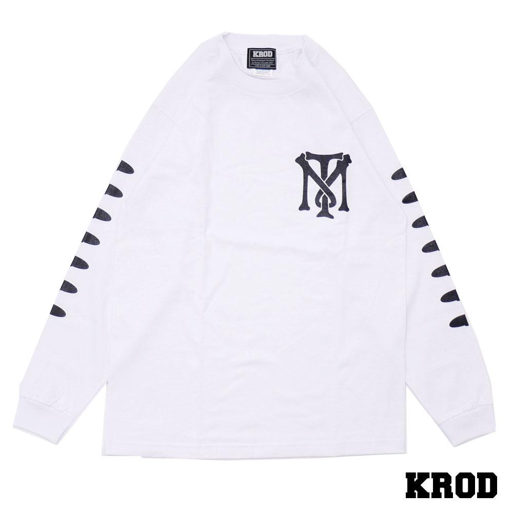 クラウド KROD TM L/S TEE 【長袖Tシャツ】 WHITE 999005453040