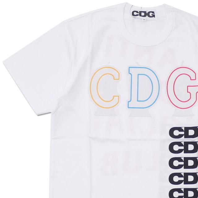 CDG シーディージー x Anti Social Social Club アンチソーシャルソーシャルクラブ CANDLE CDG TEE Tシャツ WHITE 200007943040+【新品】
