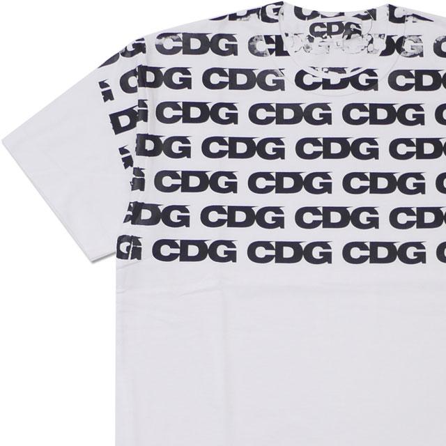 CDG シーディージー HAND PRINT TEE Tシャツ WHITE 200007942050+【新品】 COMME des GARCONS コムデギャルソン