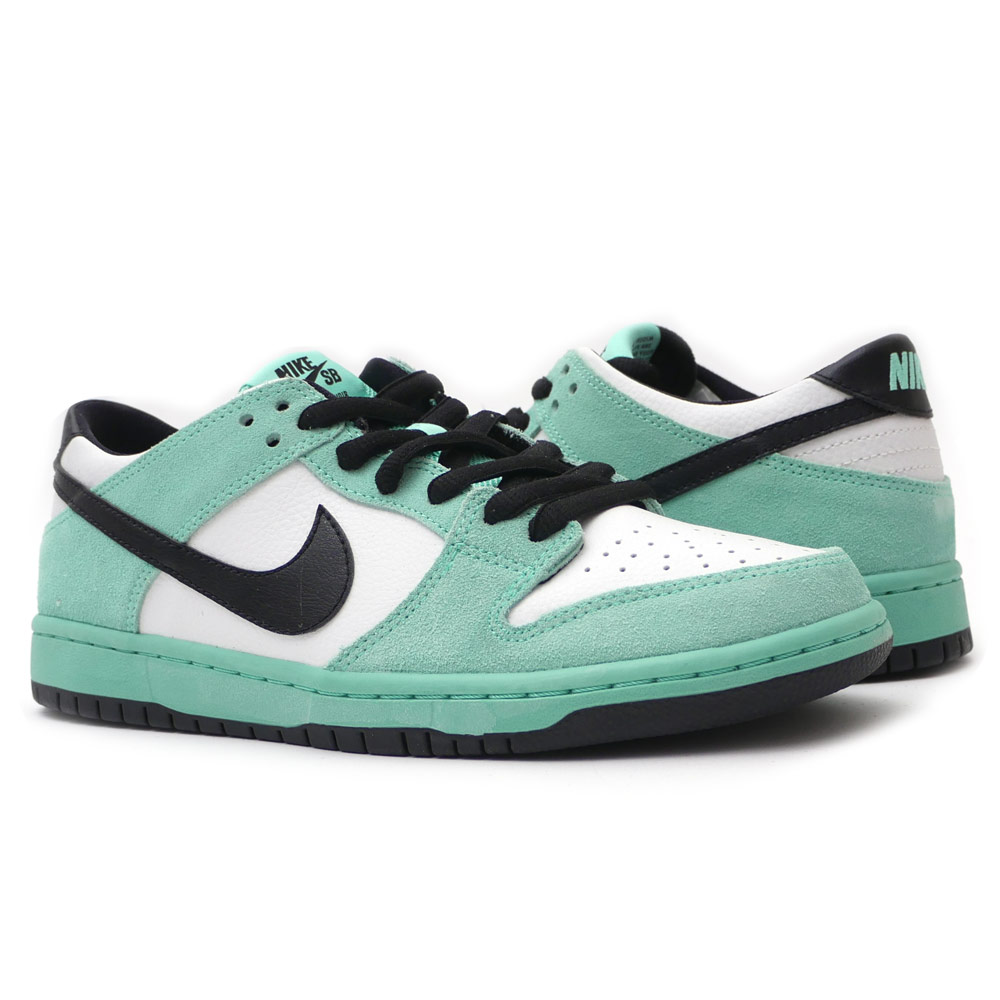 wholesale dealer 28f90 8d9f7 NIKE (Nike) DUNK LOW PRO IW (dunk SB) GREEN GLOW BLACK-SUMMIT WHITE  819,674-301 191-012217-999