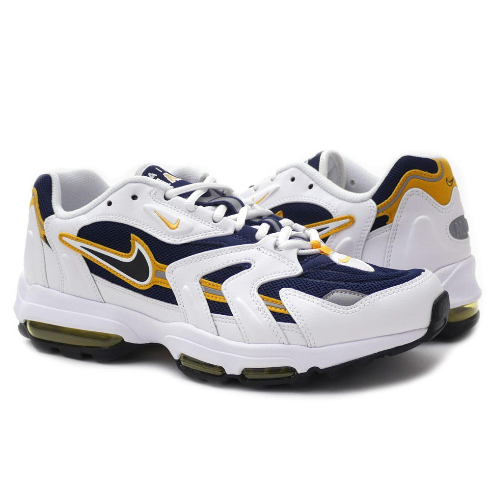 Nike NIKE AIR MAX 96 II XX Air Max MIDNIGHT NAVY/BLACK-WHT-GLDNRD men  870,166-400 191-012938-310