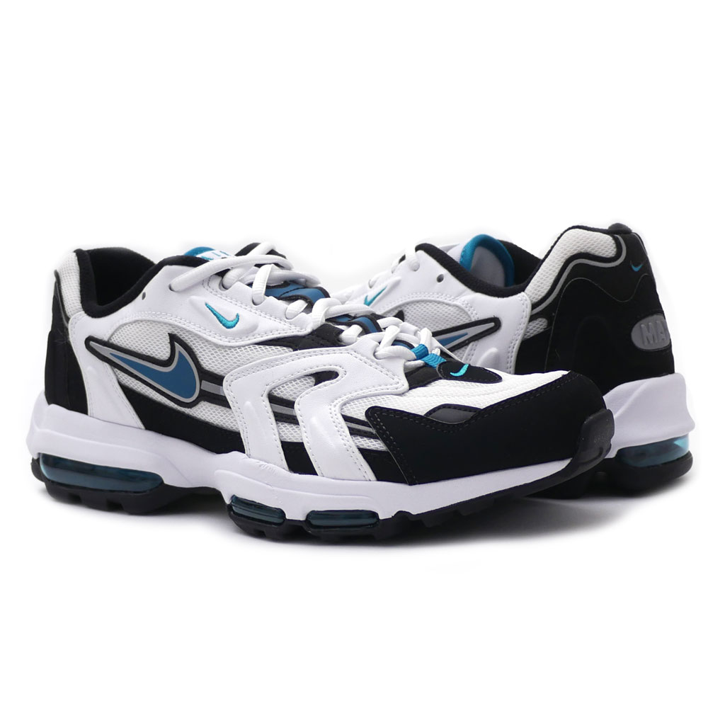Nike NIKE AIR MAX 96 II XX Air Max WHITE/MYSTIC TEAL-BLACK men 870,166-100 191012939090