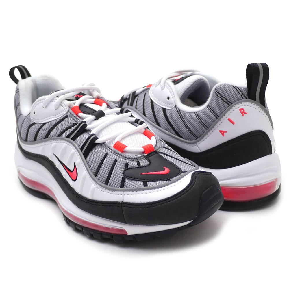detailed look 69f34 df6a9 Nike NIKE W AIR MAX 98 Air Max 98 WHITE/SOLAR RED-DUST AH6799-104  191013061320