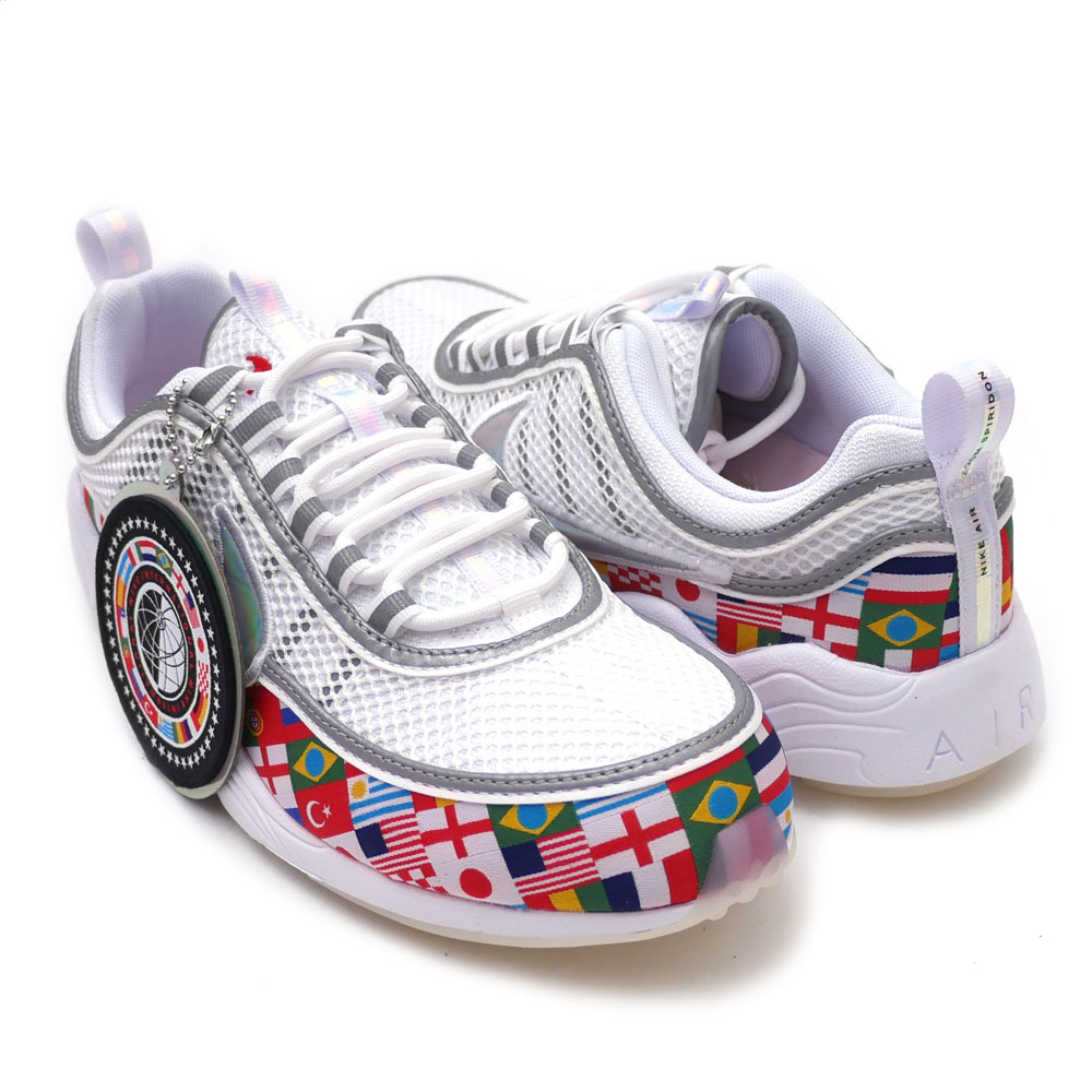 1fb8cb5ff056 Nike NIKE AIR ZOOM SPIRIDON  16 NIC QS zoom pyridone WHITE MULTI-COLOR  AO5121-100 191013106280