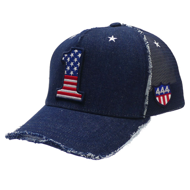 Ford Super Duty Blue and Gray Mesh Trucker Hat