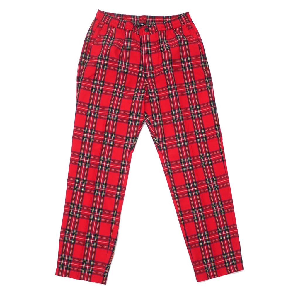 ステューシー STUSSY BRYAN PANT イージーパンツ RED レッド 赤 メンズ 420000297043