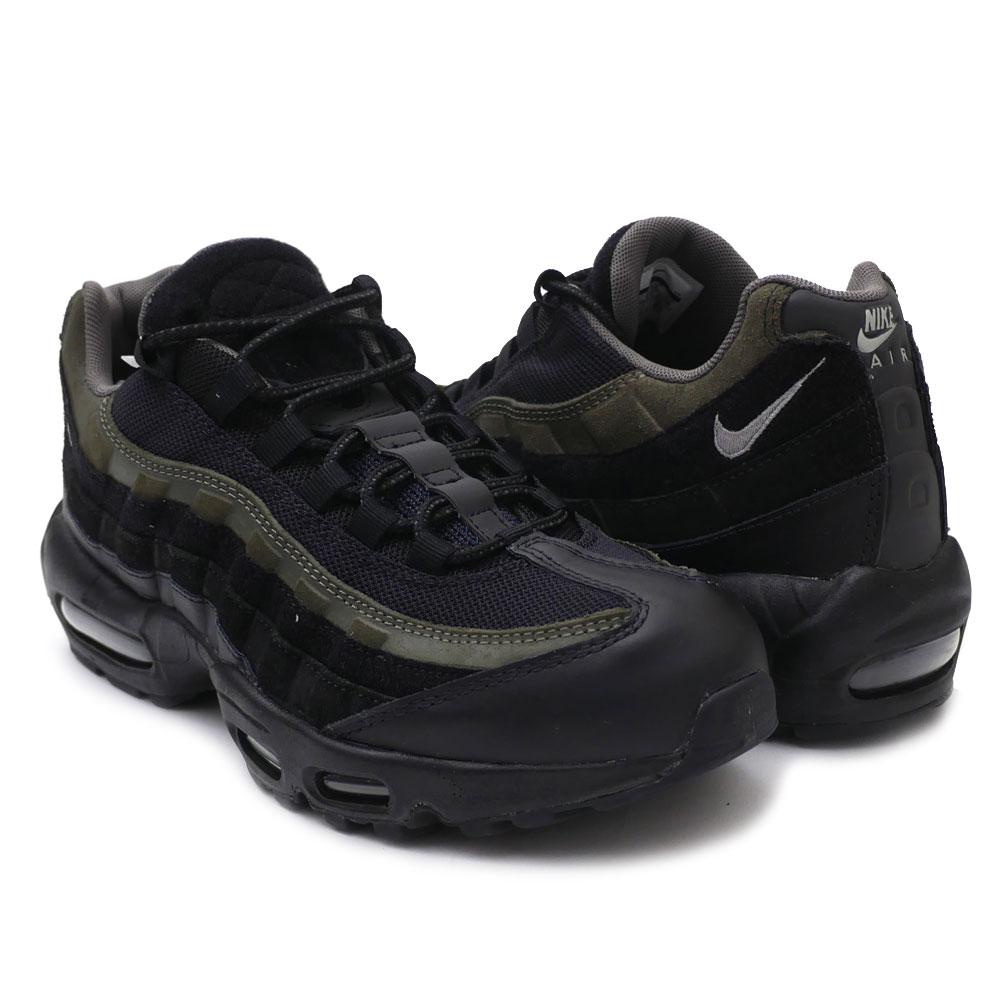 d400193224 Nike NIKE AIR MAX 95 HAL Air Max BLACK/BLACK-CARGO KHAKI men AH8444-001  191013240301