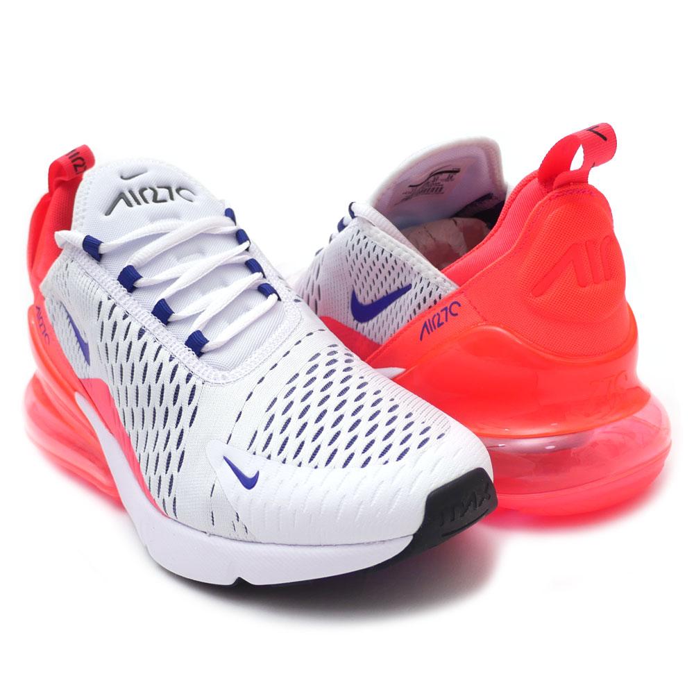 huge selection of cb496 fabff Nike NIKE WMNS AIR MAX 270 Air Max WHITE/ULTRAMARINE-SOLAR RED men  AH6789-101 191013242320