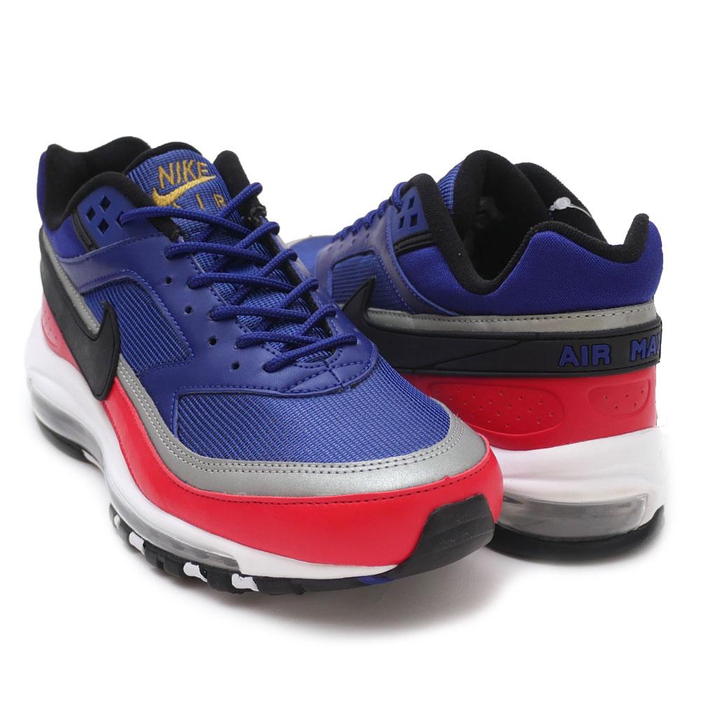 best website 49ae6 1cf91 Nike NIKE AIR MAX 97/BW Air Max DEEP ROYAL BLUE/BLACK AO2406-400 men  191013316294